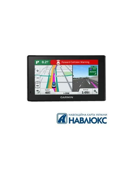 Автонавигатор Garmin DriveAssist 50 С картой Украины НавЛюкс