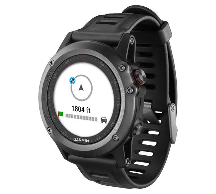 Дополнительные навигационные возможности при использовании смарт-часов Garmin