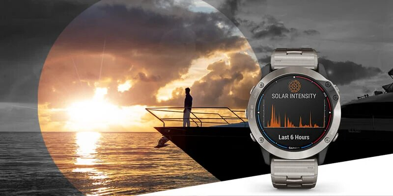 Garmin Solar Smartwatches