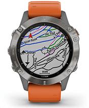 Топографические и горнолыжные карты
