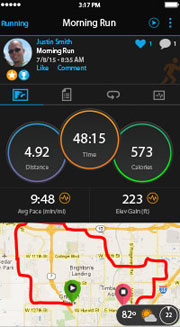 Forerunner 235. Garmin Connect