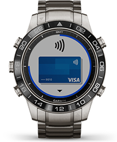 Платежи Garmin Pay MARQ