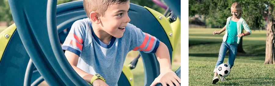 Детский фитнес-трекер vivofit junior